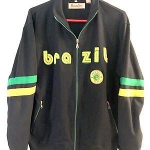 POINT ZERO RETRO Sweats Soccer Jacket #JT